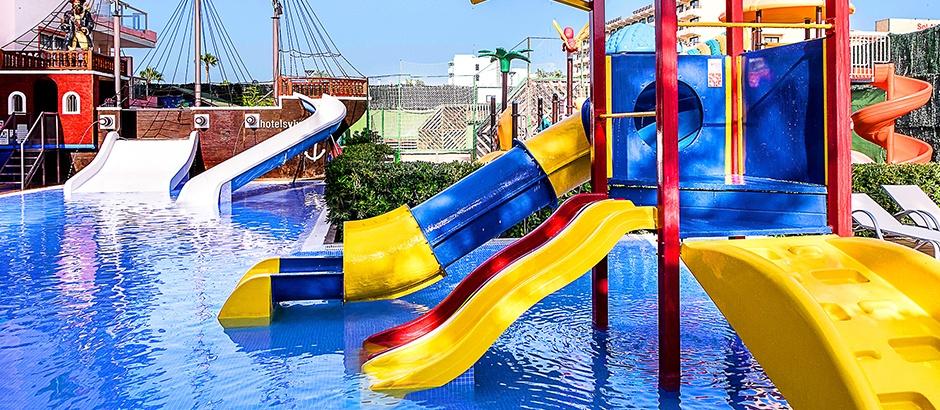 Majorca water park hotel