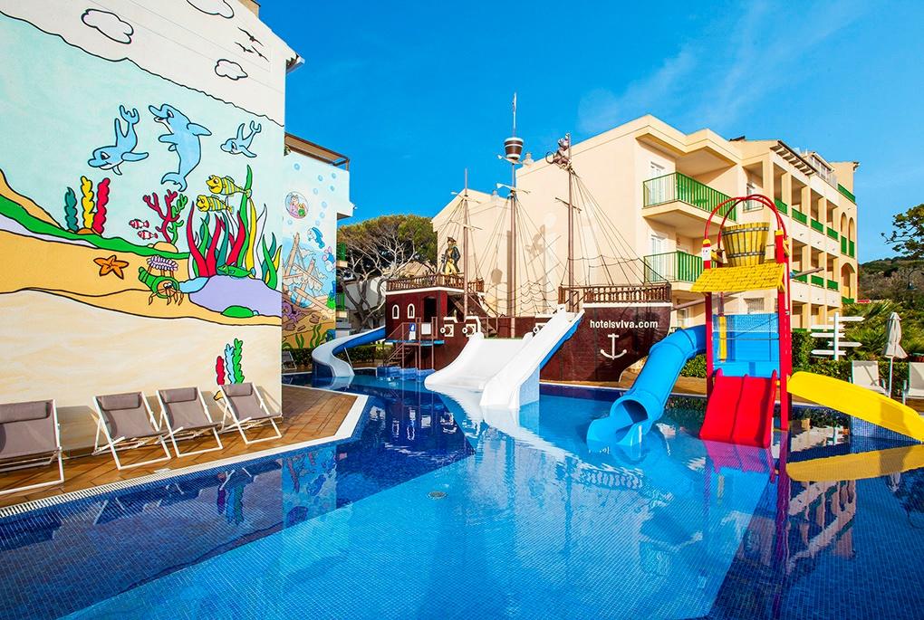 Los hoteles VIVA son ideales para disfrutar de unas vacaciones en familia en Mallorca