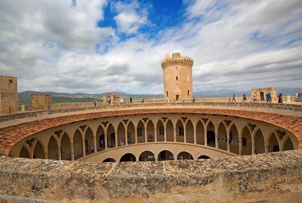 Castillo de Bellver Mallorca