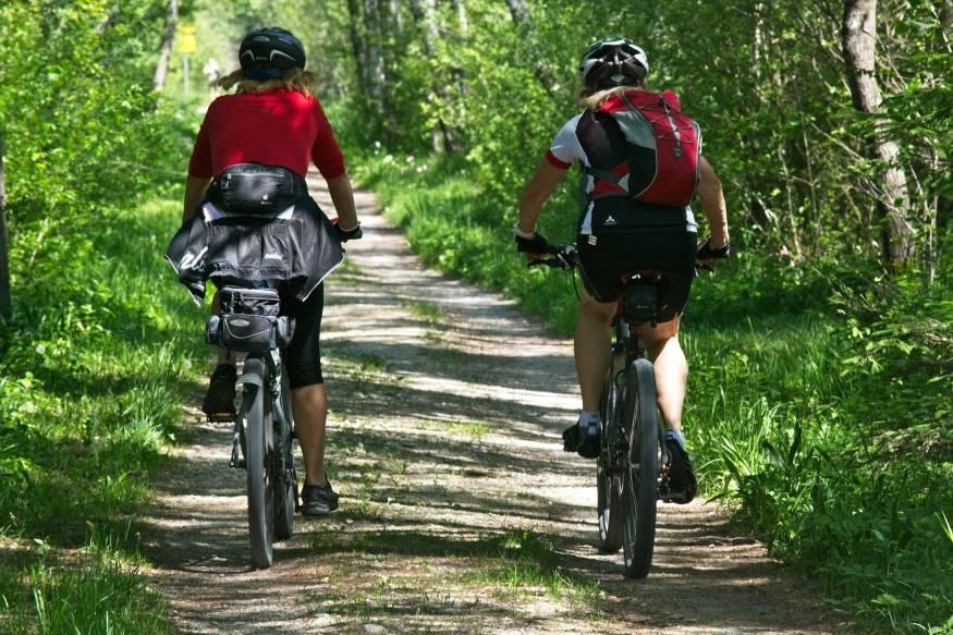 Hervorragende Routen für Radfahrer