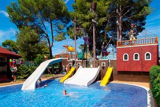 Los mejores hoteles con toboganes para niños en Mallorca