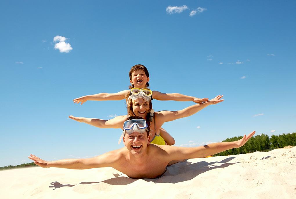 Tipps für einen Familienurlaub am Strand