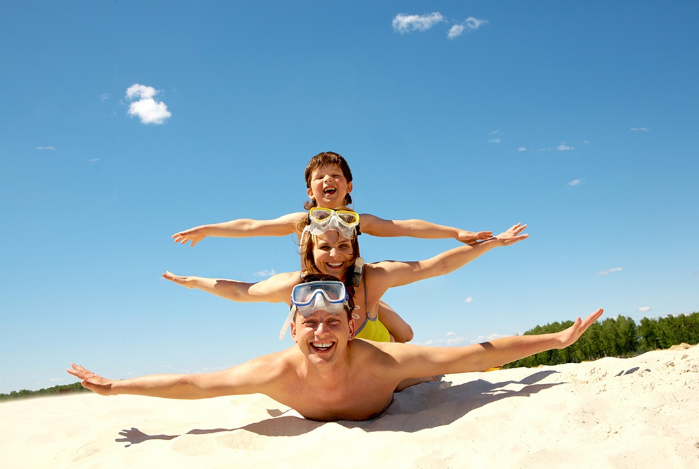 Tips for family holidays by the sea
