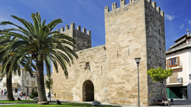 Stadttor von Alcudia