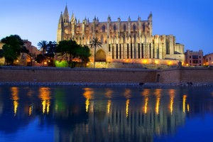 Cathedral of Majorca in Palma de Mallorca Balearic islands