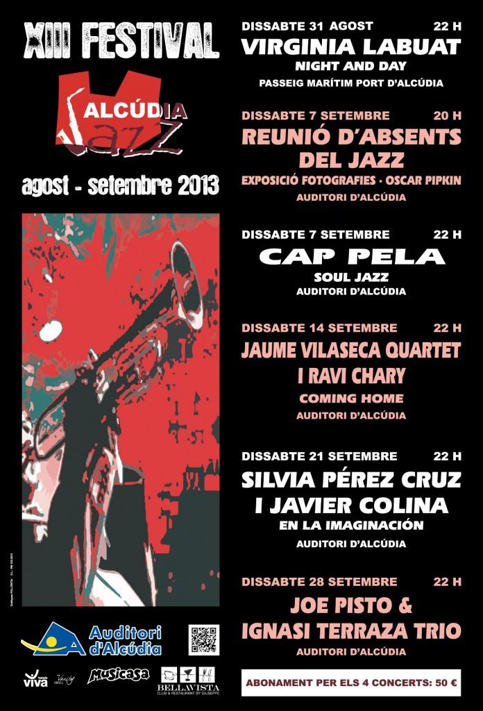 Alcudiajazz - cartell 2013