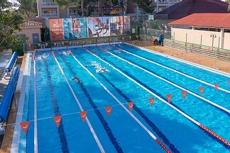 Semi Olympic pool Hotel Viva Blue & Spa