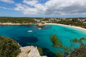 Menorca Cala Galdana Beach in Ciutadella at Balearic