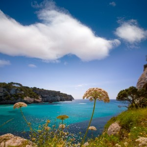 Cala Macarella Menorca turquoise Balearic Mediterranean