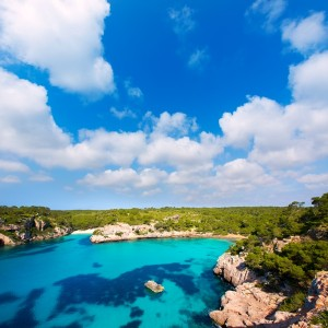 Cala Macarella Macarelleta Cituradella in Menorca Balearic