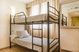 In den Familienapartments können bis zu 6 Leute untergebracht werden.