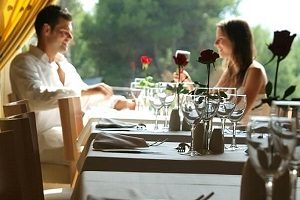 Try Majorcan cuisine at the restaurant of Vanity Golf, an adults-only hotel in Majorca