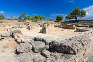 Eine der Zonen der römischen Stadt Pollentia, die du in Alcúdia besuchen kannst