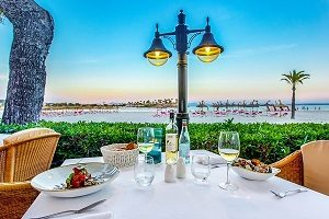 Fabulous restaurants and spectacular cuisine on your adults-only holidays at Vanity Golf