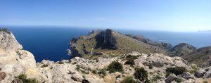 Una de las panorámicas que se pueden admirar en las rutas de senderismo desde el Vanity Golf por Mallorca