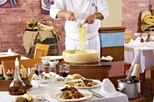 "Restaurante italiano ""La Terraza"" del Viva Cala Mesquida Resort"