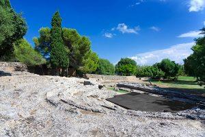 Ruinen des römischen Theaters in Pollentia, Alcúdia