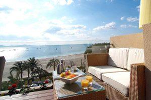 La Royal Terrace es una suite maravillosa para disfrutar de tu estancia sólo adultos en el Vanity Golf