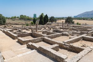 Jornada de puertas abiertas a las ruinas romanas de Pollentia con motivo de las fiestas de Sant Jaume en Alcudia