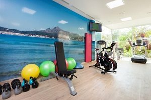 Enjoy fitness and other gym activities on holidays at Vanity Golf