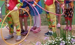 At Viva Circus, kids learn and rehearse skills related to the world of circus