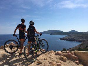 Rutas fantásticas alrededor de Cala Mesquida para disfrutar de la mountain bike por Mallorca