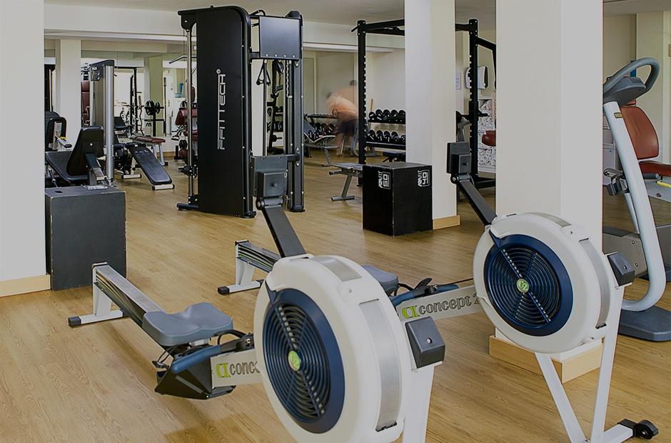 Gym hotels