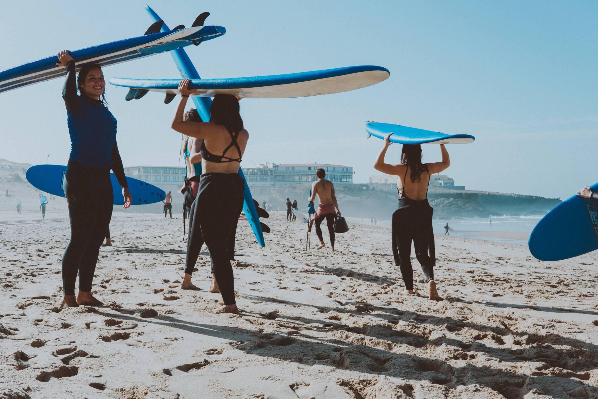 escuela de surf en la palma