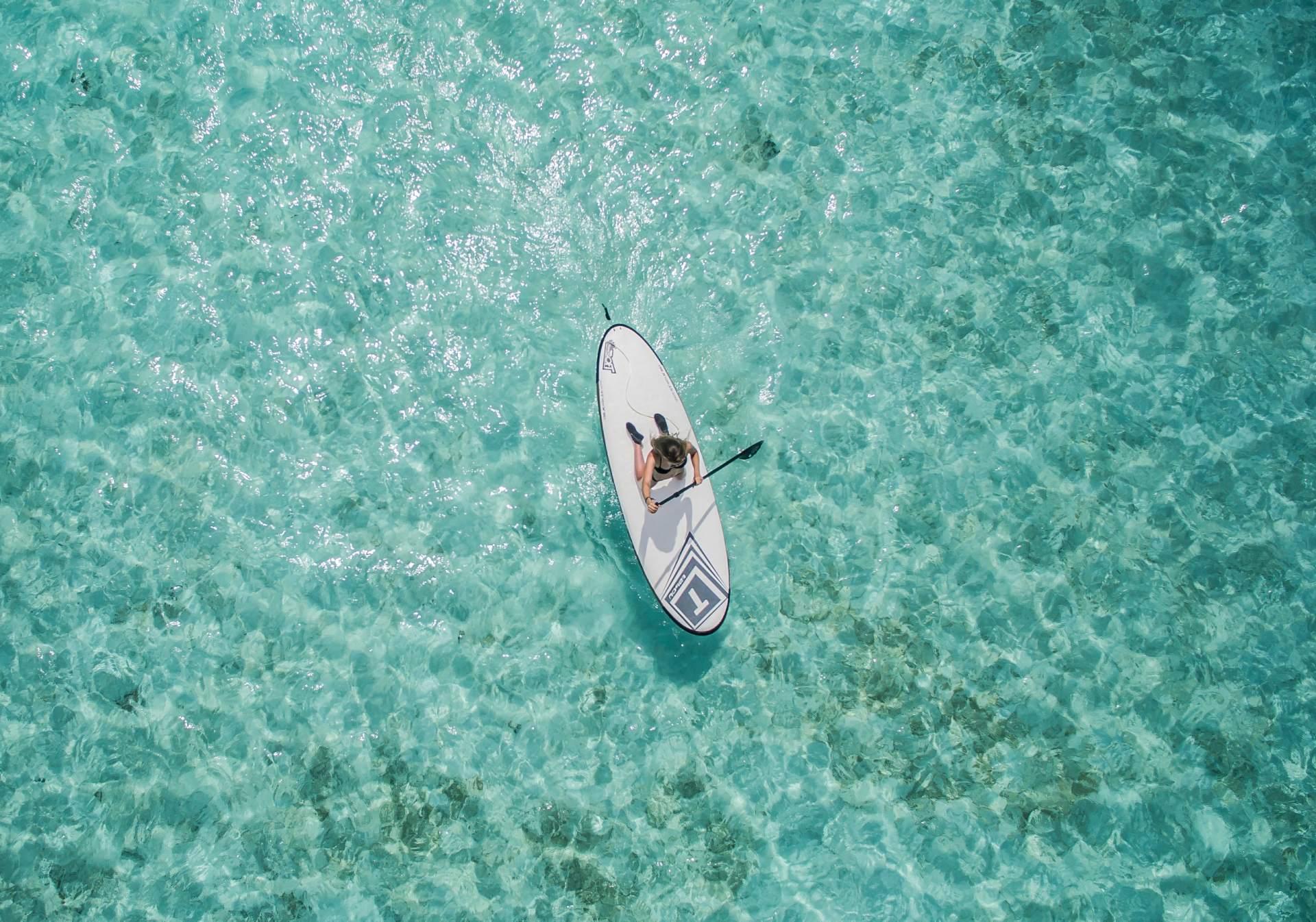 excursión stand up paddle y kayak mallorca