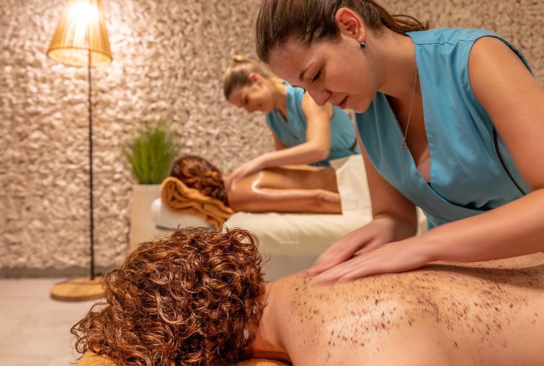 masaje para parejas
