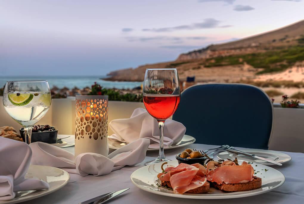 Mirablau, das beste Restaurant mit mediterraner Küche auf ...