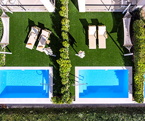 VIVA Blue & Spa Swim-up Apartment