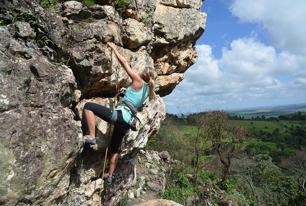 climbing on Mallorca